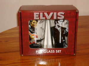 ELVIS-PRESLEY-PUB-GLASS-SET-NEW-IN-BOX
