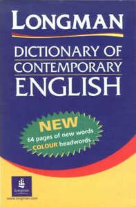 LONGMAN DICTIONARY OF CONTEMPORARY ENGLISH., No author., Used; Good Book