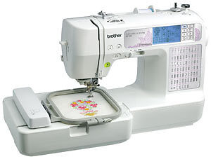 Brother-Sewing-Machine-Embroidery-SE-400-Refurbished