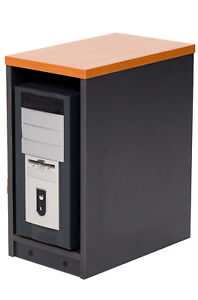 Details about Computer CPU storage box desk hard drive pc tower case