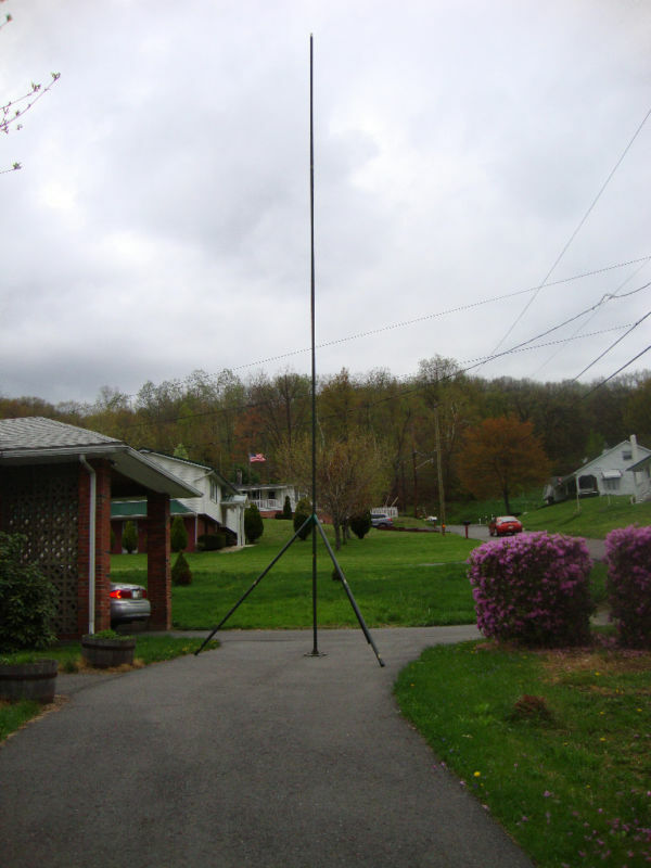 Antenna Tripod 29ft Aluminum Portable Tower Mast Kit