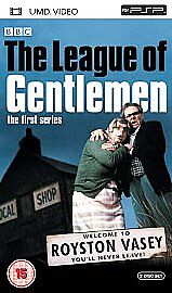The League Of Gentlemen - Series 1 (UMD, 2005, 2-Disc Set)