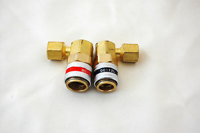 R134a Car Ac Port/manifold Connection Tool Quick Connector Adapter Couplers 14mm