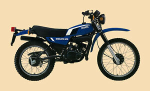 YAMAHA-Poster-DT125-DT125F-Trail-1979-Suitable-to-Frame