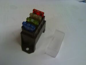 ATC-ATO-4-WAY-RAISED-FUSE-BLOCK-WITH-CLEAR-COVER-AUTO-CAR-TRUCK-MOTORCYCLE
