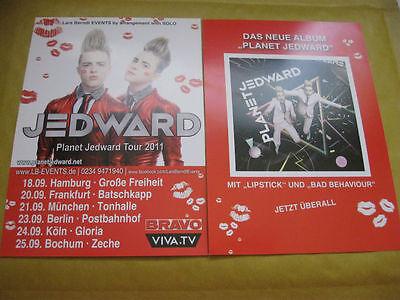 MUSIC FLYER - PLANET JEDWARD TOUR SEPT 2011 - GERMANY