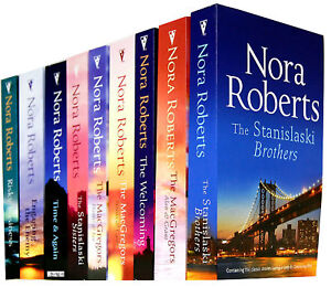 Nora Roberts Collection 9 Books Set Pack Silhouette Macgregors Stanislaski Risky