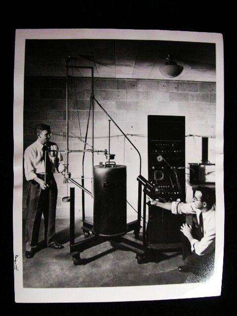 ATOMIC POWER RADIATION  NEUTRON  PHOTO 1953#6484