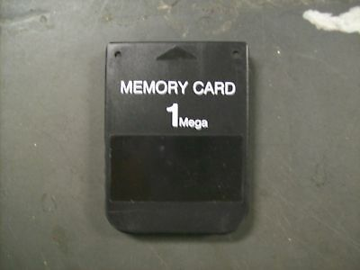 1 Meg Mb Memory Card For Original Ps1 Psx Sony Playstation Ships From Usa