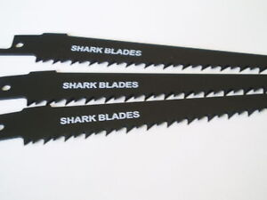 10x Shark Blades Reciprocating Saw Blades SDS S644D