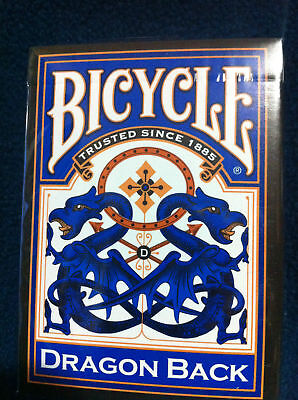 Bicycle Blue Dragon Back Playing Cards Deck