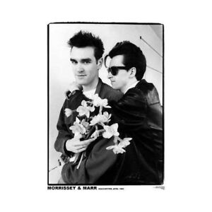 THE SMITHS =POSTER 84.5cm x 60cm= Morrissey & Johnny Marr NEW