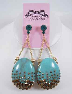 Tarina Tarantino Throne Room Turquoise Earrings
