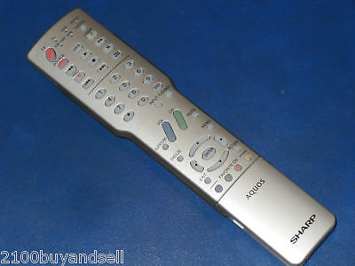 Sharp Aquos Silver Ga416wjsa Remote Lc40c37u