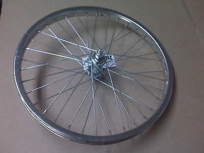 Bmx Bike Bicycle Wheel Set 20 Front And Rear With Coaster Brake Hub.