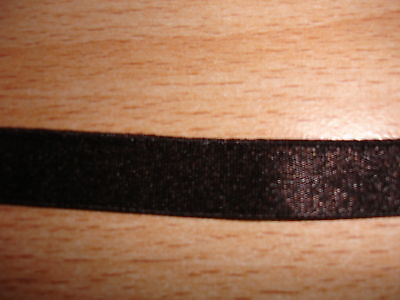 Gummiband 0,25€/m braun glänzend 10 Meter MN14