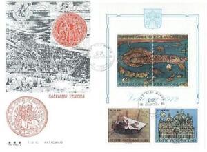 Vatican 1972 Mi FDC BL 3a UNESCO Cartography -  Dabrowa, Polska - Vatican 1972 Mi FDC BL 3a UNESCO Cartography -  Dabrowa, Polska