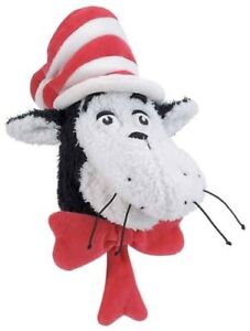 Dr. Seuss Hand Puppet THE CAT IN THE HAT Plush