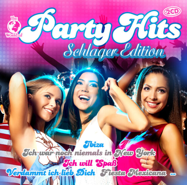 The World of Party Hits - Schlager Edition (2CDs) Neu