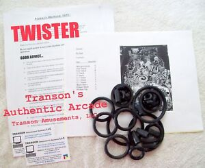 Twister Pinball Rubber Ring Kit - Sega