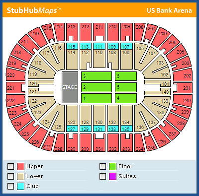2-Tickets-Bruno-Mars-US-Bank-Arena-Section-237-Row-Q-Aisle-Seats-Cincinnati