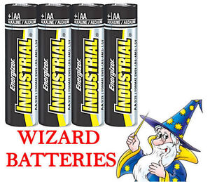 20 AA LR06 AM3 ENERGIZER INDUSTRIAL ALKALINE BATTERIES