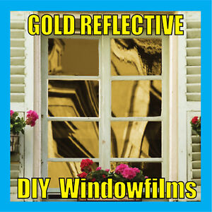 GOLD-SOLAR-REFLECTIVE-ONE-WAY-MIRROR-WINDOW-FILM-TINT