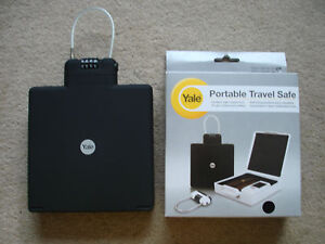 YALE PORTABLE TRAVEL SAFE BRAND NEW FREE DELIVERY