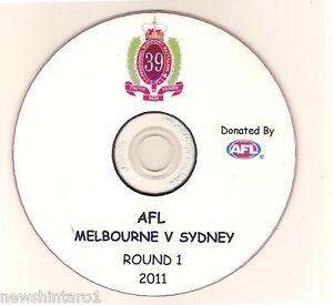 AUSTRALIAN-ARMY-DVD-AFL-ROUND-1-2011-DEMONS-SWANS