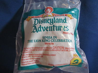 Mcdonalds 1994 Happy Meal Toy Simba 3