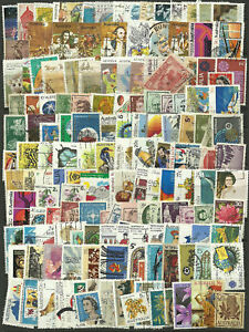 Collection-Packet-of-100-Different-AUSTRALIAN-Stamps-Used-Condition