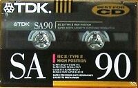 How to date vintage audio cassettes Part I TDK SA