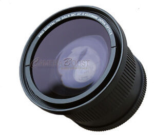 WIDE FISHEYE LENS For CANON EOS REBEL 1000D XS 550D XSi
