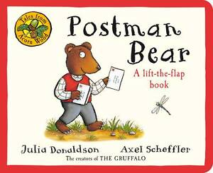 Tales-From-Acorn-Wood-Postman-Bear-A-lift-the-flap-book-Julia-Donaldson-Used