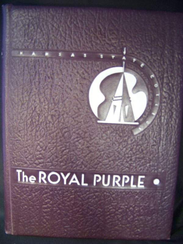 Royal Purple 1949 Kansas State College Yearbook