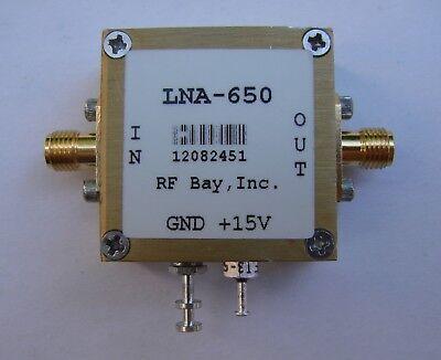 30KHz-600MHz 50dB Low Noise Amplifier, LNA-650, SMA