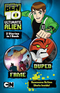 Fame-AND-Duped-Ben-10-Ultimate-Alien-Storybooks-New-Book