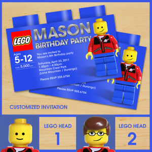 LEGO-Birthday-invitation-invites-CUSTOM