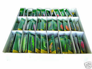 144 x Mixed Fishing Lures & Spinners - Pike Perch Sea