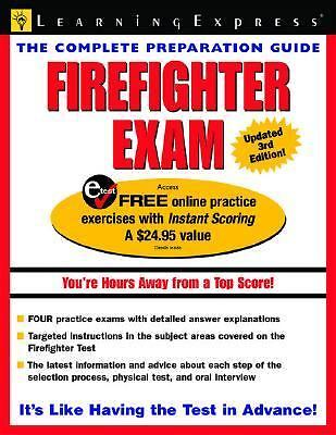 Firefighter Exam 2006 Paperback Ebay