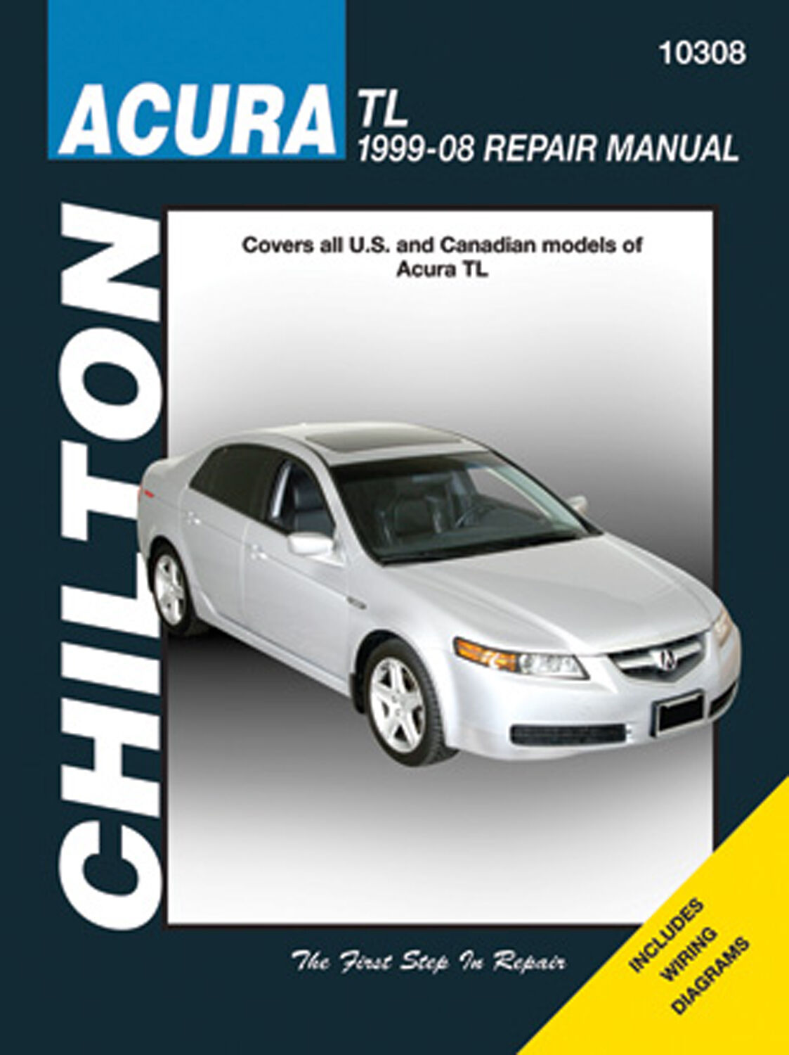 Repair Manual Chilton 10308 Fits 99 08 Acura Tl Ebay Wiring Diagram Stock Photo
