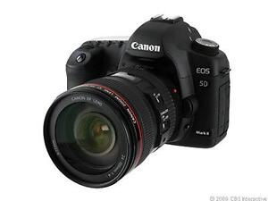 Canon EOS 5D Mark II 21.1 MP Digital SLR...