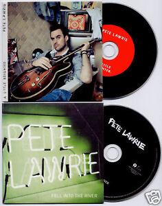PETE-LAWRIE-A-Little-Brighter-11-trk-promo-CD-bonus-CD