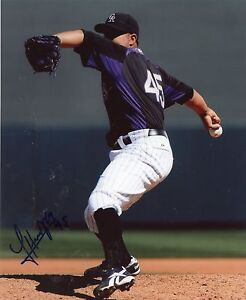 JHOULYS-CHACIN-COLORADO-ROCKIES-SIGNED-8X10-PHOTO