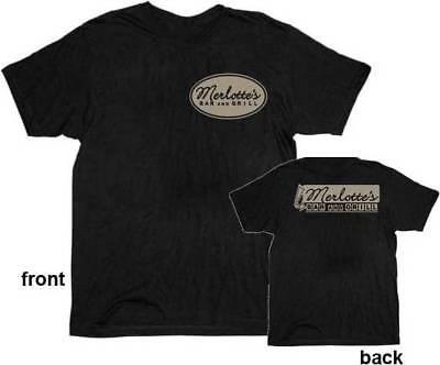 True Blood Merlottes Bar (Mens True Blood Merlottes Bar & Grill Black T-shirt Tee)