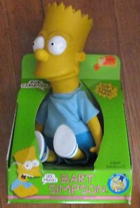 SIMPSONS Vintage 1990 Bart Figure/Doll MIB Aye Carumba