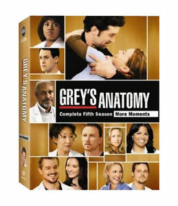 Grey-039-s-Anatomy-Complete-5th-Season-Dvd-Brand-New-amp-Factory-Sealed