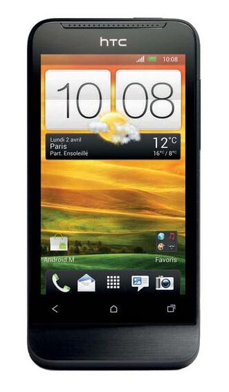 HTC  One One V - 4 GB - Black - Smartphone