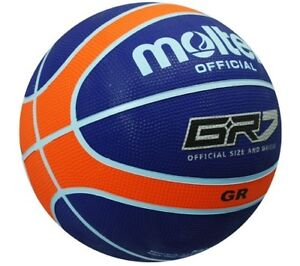 MOLTEN GR Basketball FIBA Approved Official 5-7 3 Colrs