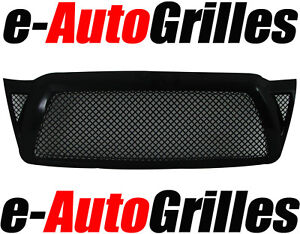 05-11-Toyota-Tacoma-4mm-Chrome-Black-Mesh-Billet-Grille